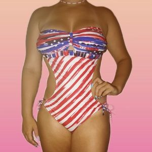 4th of July swim wear